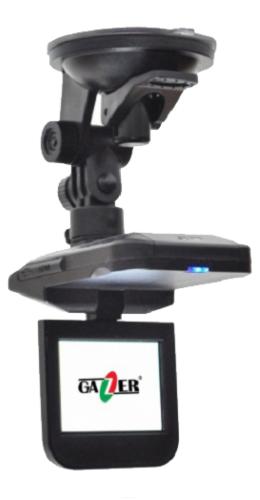 Автомобильный видеорегистратор Gazer H521 + 4 Гб